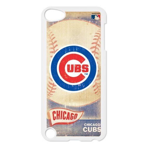 Chicago Cubs MLB Vintage Style Durable Plastic Back Case for Ipod Touch 5 5S at Amazon.com