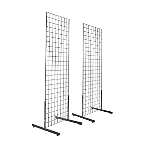 Amazon Com 2 X 6 Gridwall Panel Tower With T Base