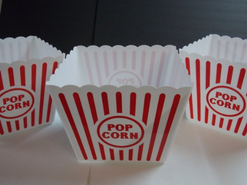 Plastic Popcorn Tub - 8.5