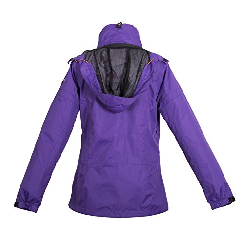 Deproc Active Damen Funktionsjacke und Outdoorjacke FAIRWEATHER, Lilac, 50, 54650-654 -
