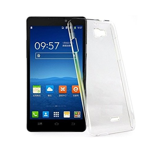 Ultra Thin 0.3mm Clear Transparent Flexible Soft TPU Slim Back Case Cover For Micromax Canvas Nitro A311