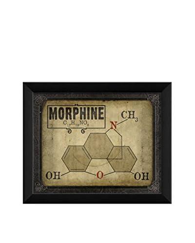 The Artwork Factory Morphine Molecule Print