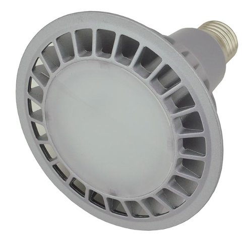 Ledwholesalers Dimmable Par38 14 Watt Led Wide Angle Flood Light Standard Screw Base, White 1322Wh-Dm