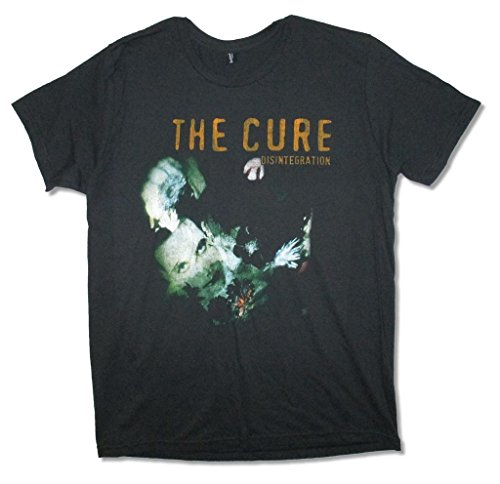 TAILAD The Cure Disintegration Album Image Adult Black T Shirt