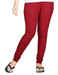 Clifton Women Stretch Cotton Legging - Maroon