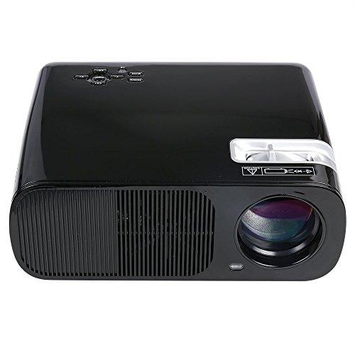 Fastfox Hd Projector Full Color 720p 3000 Lumens Analog Tv: FastFox LED LCD Projector 2600 Lumen 800×600 HD Home
