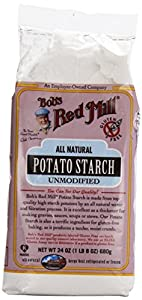 One 24 oz (1 lb 8 oz) 680 g Bob's Red Mill, Potato Starch Unmodified, Gluten Free