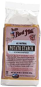 One 24 oz (1 lb 8 oz) 680 g Bob's Red Mill, Potato Starch Unmodified, Gluten Free