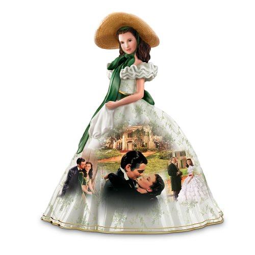 "Picnic Dress Gone With The Windâ""¢ Figurine by The Bradford Exchange"