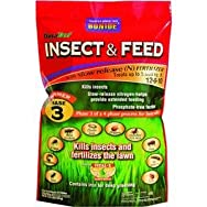 Bonide604305M Lawn Fertilizer with Insecticide-5M INSECT & FEED