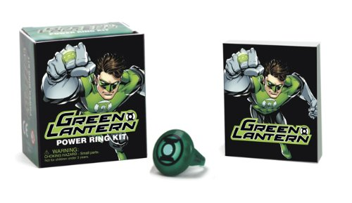 Best Price Green Lantern Power Ring Kit Mega Mini Kits