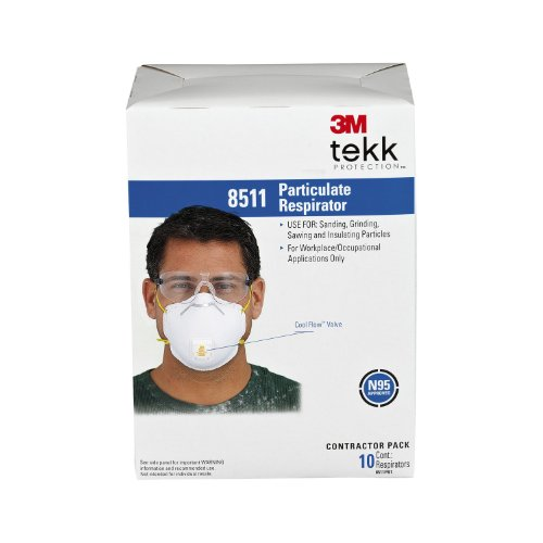 3M-8511-Standard-N95-Molded-Cup-Disposable-Particulate-Respirator-with-Valve-1-Case-of-10-100-Dust-Masks