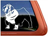 English Bulldog Vinyl Window Auto Decal Sticker