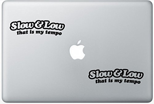 Slow And Low Thats My Tempo ArcDecals78601144 Set Of Two (2x) , Decal , Sticker , Laptop , Ipad , Car , Truck (Tempo Slow compare prices)
