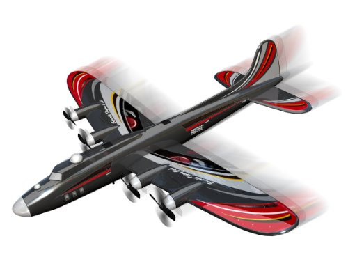 Silverlit X-Twin Speedy Plus 2-Channel Radio Control Aeroplane (Colour and Frequency Varies)