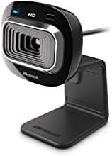 Windows T3H-00013 - Webcam HD, color negro