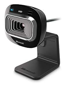 Microsoft LifeCam HD-3000  Webcam HD Noir