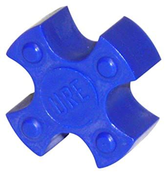 Lovejoy Jaw Coupling, L Type, Jaw Coupling Solid Center Elastomer Spider, Urethane