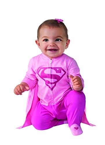 Image - Rubie's Costume Baby Girl's DC Comics Superhero Style Baby Supergirl Costume