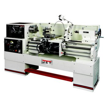 Jet 321853 Gh-1640Zk 2 In. Lathe With Newall Dp700 Dro