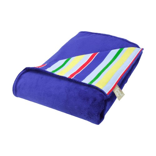 Trend Lab Trend Lab Primary Stripe Receiving Blanket, Blue