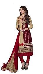 Parinaaz fashion Green soft net fabric Unsticht Dressmaterial