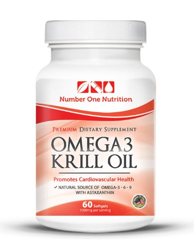 #1 Recommended Krill Oil Omega 3 - 1000 Mg Per Serving. Mega Natural Source of Omega 3 6 9, and Astaxanthin. Clinically Proven to Absorb 37.2 % More Than Fish Oil. 500 Mg Per Capsule. The Best Red Oil Supplement. Promotes Cardiovascular Health. Krill Oil Is Also Recommended By Dr Oz, Safe & No Side Effects. *** 200 % Money Back Guarantee ***