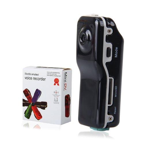 Floureon Md80 Mini Dv Dvr Sports Helmet Bike Motorbike Camera Video Audio Recorder (Black)