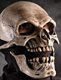 Death Skull Mask w/ Moving Mouth Action Adult Halloween Costume Accessory