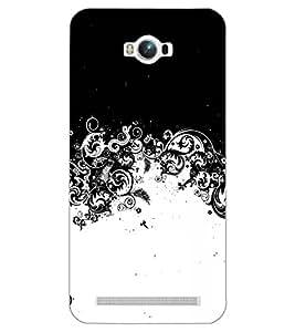 PrintDhaba NEW ERA ART D-6758 Back Case Cover for ASUS ZENFONE MAX ZC550KL (2016) (Multi-Coloured)