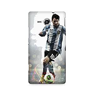Ebby Messi on the Move Premium Printed Case For Sony Xperia SP M35H