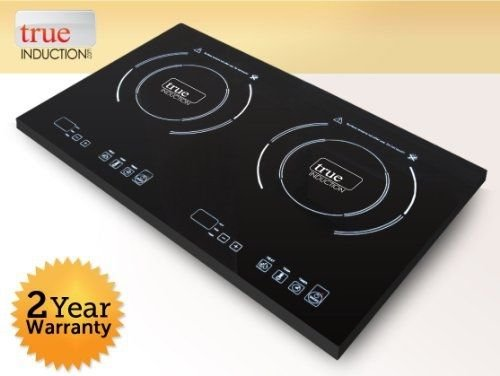 True Induction S2F2 Cooktop, Double Burner, Energy Efficient --P#EWT43 65234R3FA471031 (True Induction S2f2 compare prices)