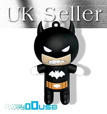 16GB Novelty Cute Cartoon Batman USB Flash Pen Drive Memory Stick Gift UK [PC] from YooUSB