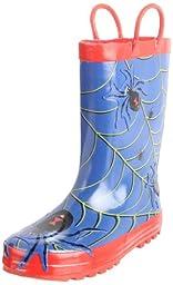 Western Chief Spider Rain Boot (Toddler/Little Kid/Big Kid),Blue,9 M US Toddler