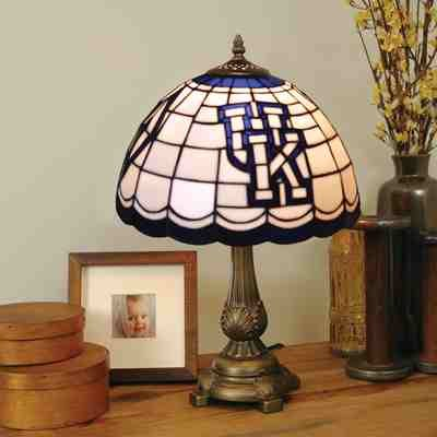 NCAA Kentucky Wildcats Tiffany Table Lamp at Amazon.com