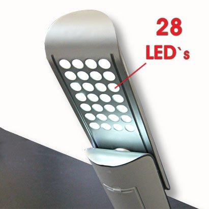 Deluxe Tischlampe Taschenlampe 2 in 1 mit eleganter Slider-Funktion Schreibtischlampe Tischleuchte Nachttischlampe Lampe