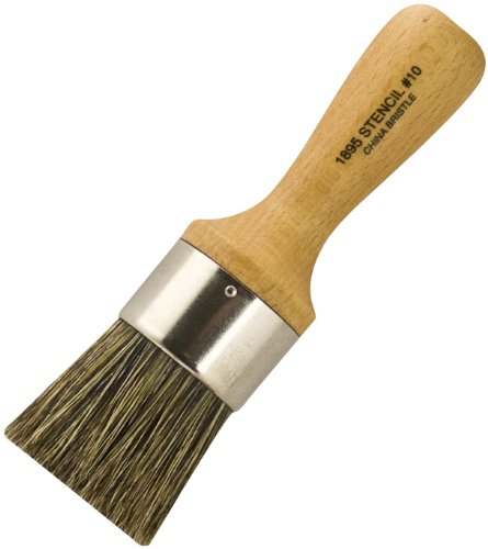 Wooster Brush 1895 1-1/2 Thick Stencil Brush, Size 10