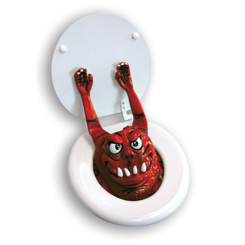 Big Mouth Toys The Toilet Monster - Red