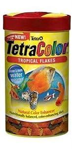 Tetra Color Tropical Flakes, 7.06-Ounce, 1-Liter