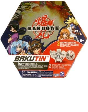 Buy Low Price Spin Master Bakugan Battle Brawlers Bakutin Game – Red (Series 2) Figure (B001UI8BK2)