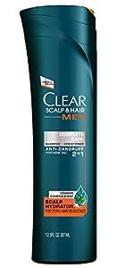 CLEAR MEN SCALP THERAPY Complete Care 2in1 Anti Dandruff Shampoo & Conditioner, 12.9 Fluid Ounce