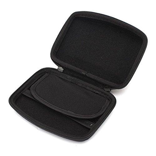 (12560-i) HARD SHELL CARRY BAG ZIPPER POUCH FOR 5INCH SAT NAV GPS
