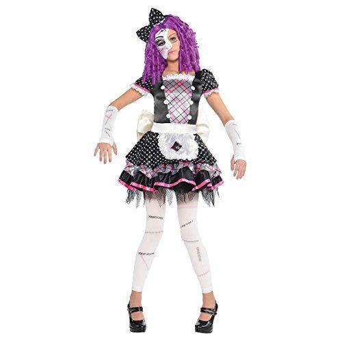 [Damaged Doll Costume - Large] (Porcelain Doll Costumes)
