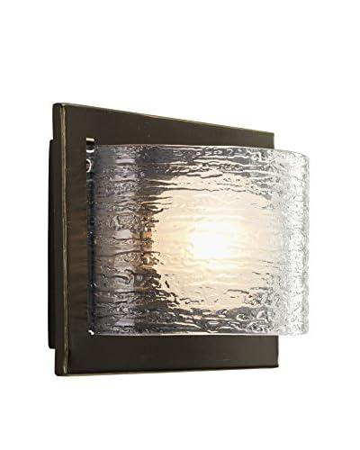 Progress Lighting Reign 1-Light Vanity Light, Antique Bronze