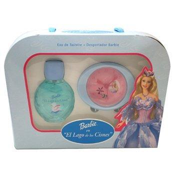 Barbie El Lago De Los Cisnes per Donna Cofanetto - 75 ml Eau de Toilette Spray + Clock