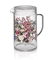 Country Garden Floral Jug