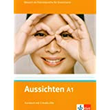 Aussichten. Kursbuch A1 mit 2 Audio-CDs: Deutsch als Fremdsprache fr Erwachsenevon &#34;Olga Swerlowa&#34;