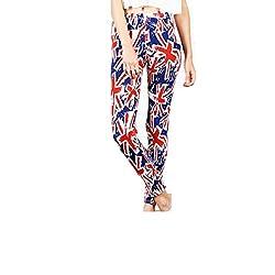 Sxy! Women's Blended Leggings (SXGZ14040_Blue_Small)