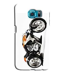 Blue Throat Sports Bike Printed Designer Back Cover/ Case For Samsung Galaxy S7 Edge