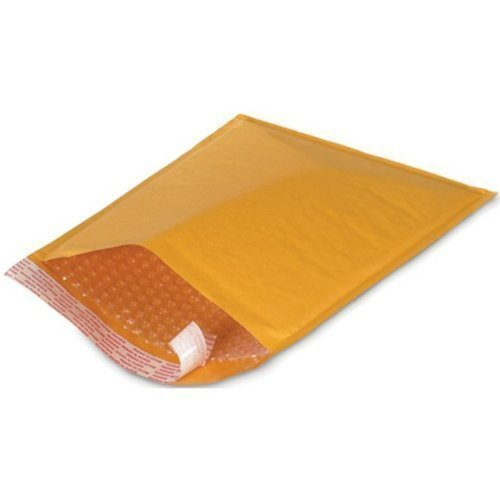 25 #0 6x10 KRAFT BUBBLE MAILERS PADDED ENVELOPES 6 x 10 (Padded Mailing Envelopes compare prices)